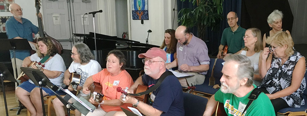 Sunday Service: People On The Move (Annual Folk Singing Service) @ The Concept School | West Chester | Pennsylvania | United States