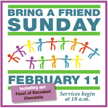 Bring a Friend Sunday @ UCWC | West Chester | Pennsylvania | United States