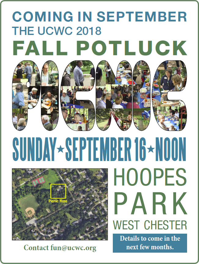 Fall Picnic Potluck at Hoopes Park @ Hoopes Park | West Chester | Pennsylvania | United States
