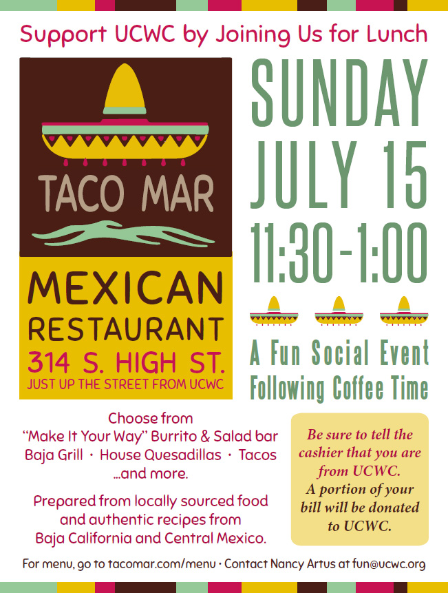 Lunch Social Event at Taco Mar @ Taco Mar Mexican Restaurant | West Chester | Pennsylvania | United States