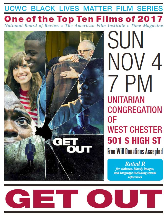 "BLM Fall Film Series Presents: ""Get Out"" @ UCWC Sanctuary and Fellowship Room 