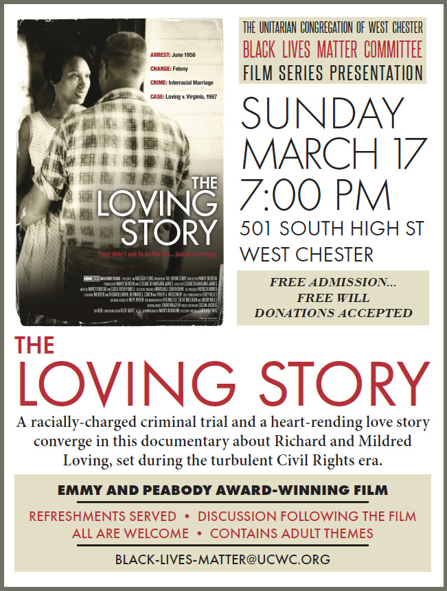 BLM Film Series: The Loving Story @ UCWC - Sanctuary