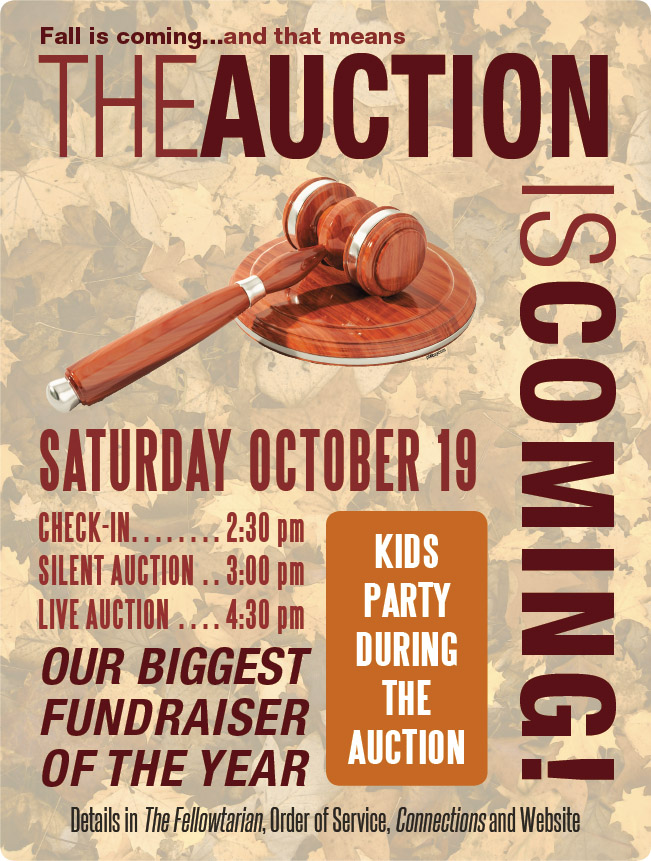 Annual Service Auction @ UCWC - Sanctuary | West Chester | Pennsylvania | United States