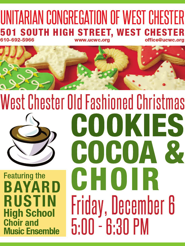 Old Fashioned Christmas Cookies & Cocoa @ UCWC - Sanctuary