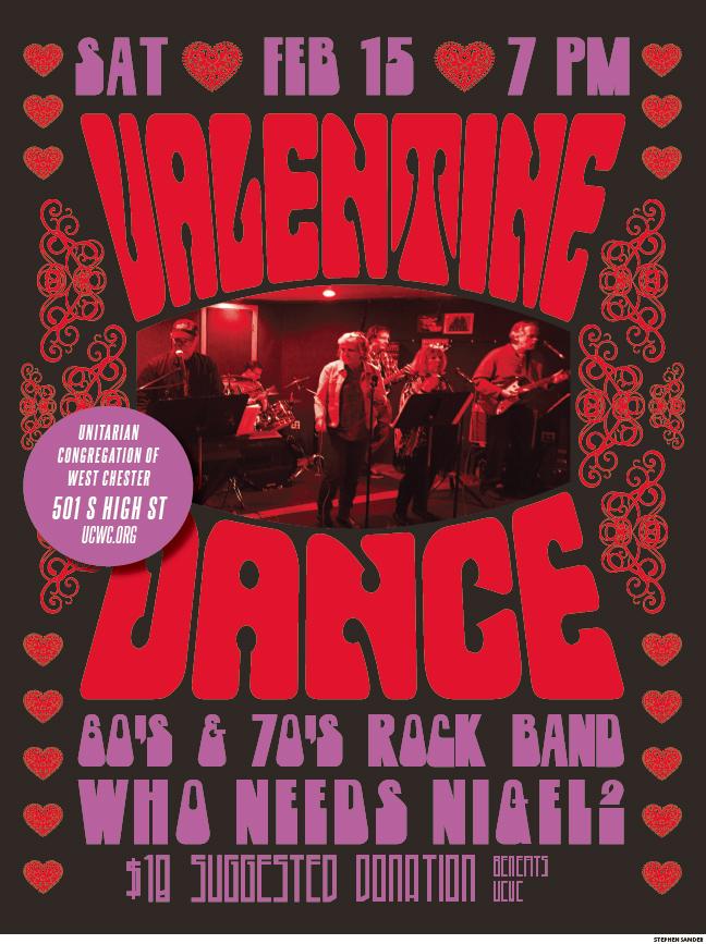 Valentine's Dance @ UCWC - Sanctuary & Social Hall