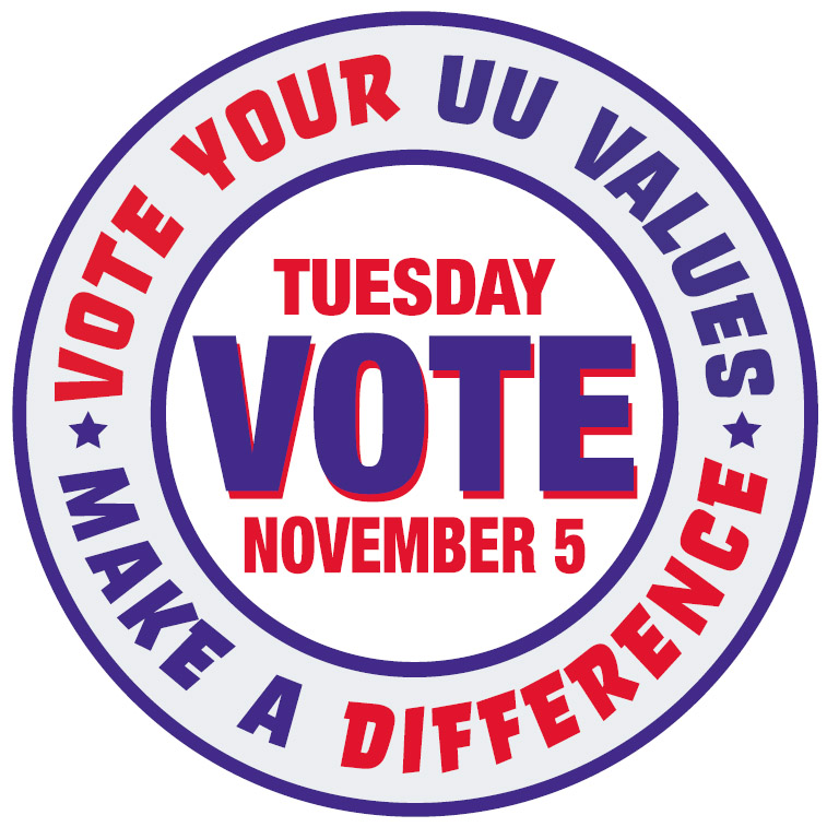 Election Day - Vote UU Values