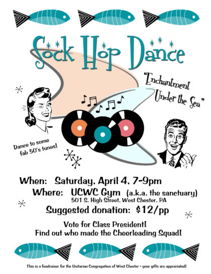 POSTPONED - Sock Hop Dance