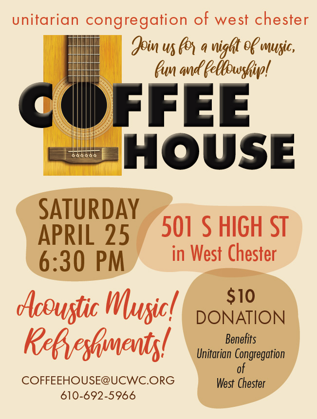 CANCELLED - Coffee House @ UCWC, First Floor