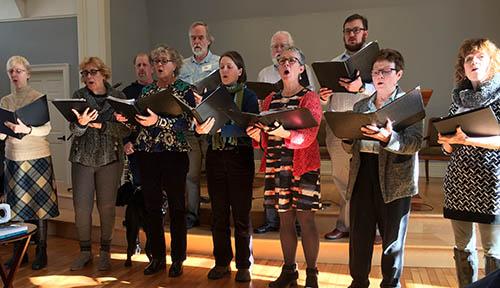 Spirit Singers Practice